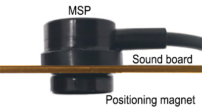mic system of keeping in place by magnets